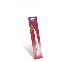 Нож Tramontina ATHUS white 76 мм для чистки овощей, индивидуальный блистер 23079/183