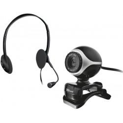 Веб камера Trust Exis Chatpack Black