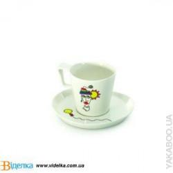 Чашка с блюдцем 400мл Eclipse BergHOFF 3705008