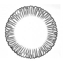 Набор тарелок 20см/6шт Pasabahce Аврора (Aurora) 10512