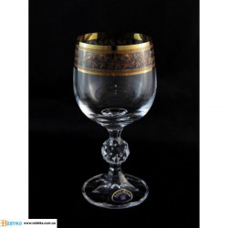 Бокалы для вина Bohemia Claudia (43081) 230 мл-6шт