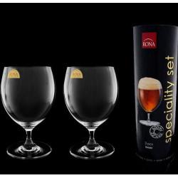 Бокалы для пива в тубусе 2 шт Rona Sparkling set