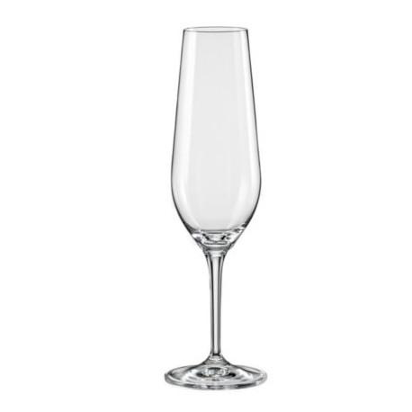 Набор бокалов для шампанского 200 мл-2 шт Bohemia Amoroso
