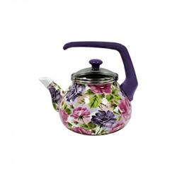 Чайник эмалированный с бакелитовой ручкой 2,2 л Анжелика Interos 1154