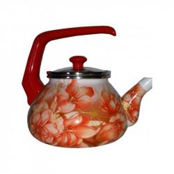 Чайник эмалированный с бакелитовой ручкой 2,2 л Сакура Interos 15230