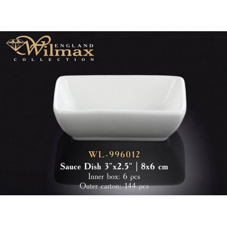 Wilmax Емкость д-соуса 8x6см WL-996012