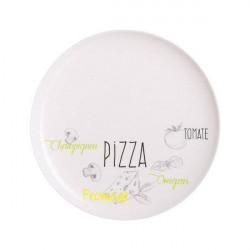 Блюдо для пиццы 32см Luminarc Friends Time Bistrot декор L2904