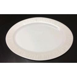 Блюдо овальное 32 см Astera White Queen