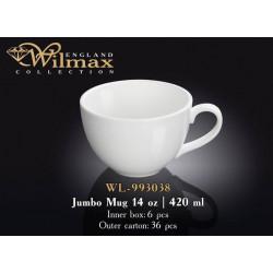 Wilmax Кружка джамбо 420мл WL-993038