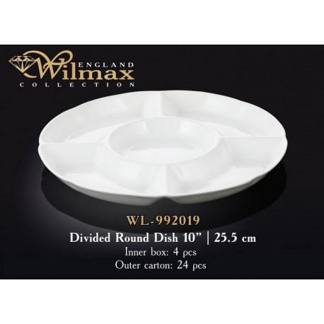 Wilmax Менажница круглая 25,5см WL-992019