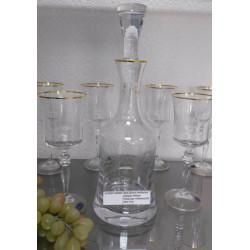 Набор для вина 7 предметов Bohemia Grace (Q8082)