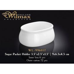 Wilmax Подставка д-порционного сахара 9х6,5х4,5см WL-996037