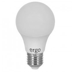 Светодиодная лампа (LED) ERGO Standard A60 E27 6W 220V 3000K (LSTA60E276AWFN)