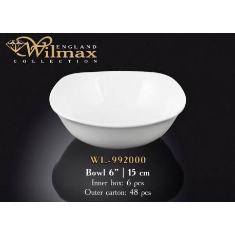 Салатник квадратный 14,5см Wilmax WL-992000