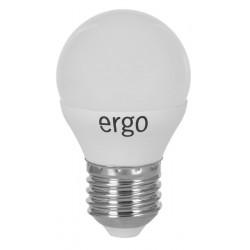 Светодиодная лампа (LED) ERGO Standard G45 E27 5W 220V 3000K (LSTG45E275AWFN)