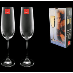 Бокалы для шампанского Rona Magnum 180-2шт 3276/180