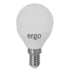 Светодиодная лампа (LED) ERGO Standard G45 E14 5W 220V 3000K (LSTG45E145AWFN)