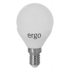 Светодиодная лампа (LED) ERGO Standard G45 E14 5W 220V 4100K (LSTG45E145ANFN)