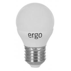 Светодиодная лампа (LED) ERGO Standard G45 E27 6W 220V 3000K (LSTG45E276AWFN)