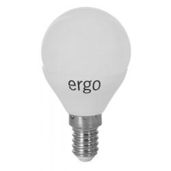 Светодиодная лампа (LED) ERGO Standard G45 E14 6W 220V 4100K (LSTG45E146ANFN)