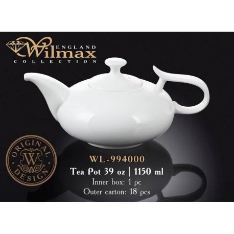 Чайник заварочный 1150мл Wilmax WL-994000