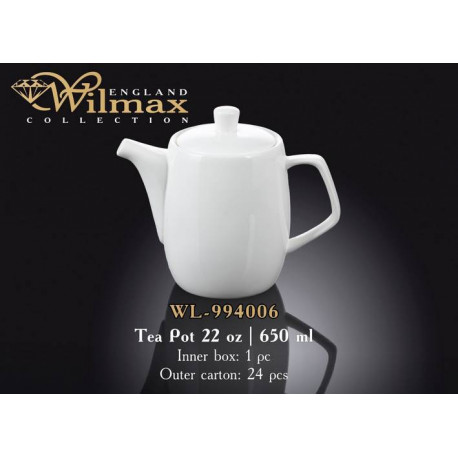 Wilmax Чайник заварочный 650мл WL-994006/1C