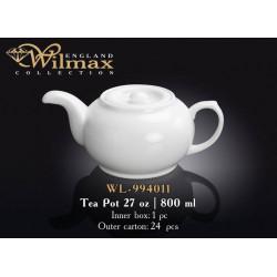 Wilmax Чайник заварочный 800мл WL-994011