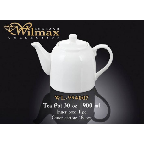 Wilmax Чайник заварочный 900мл WL-994007/1C