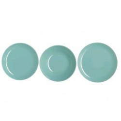 Сервиз столовый 18 пр Luminarc Arty Soft Blue L3650