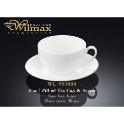 Wilmax Чашка чайная&блюдце 250мл WL-993000