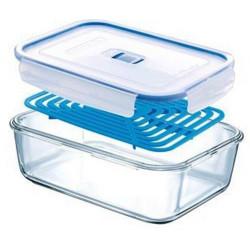 Емкость для еды 1970мл с решеткой Luminarс Pure Box Active J7336
