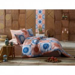 Постельное белье евро Eponj Home - Ornament Royal ранфорс