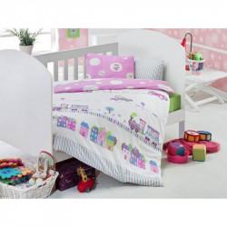 Детское постельное белье для младенцев Eponj Home - Tren Pembe