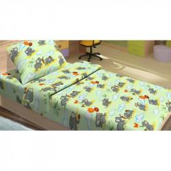 Детское постельное белье для младенцев Lotus ранфорс - FiLi зеленый