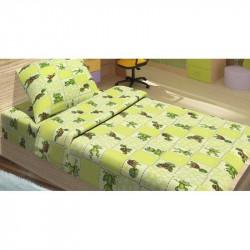 Детское постельное белье для младенцев Lotus ранфорс - JoJo зеленый