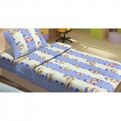 Детское постельное белье для младенцев Lotus ранфорс - MiMi голубой