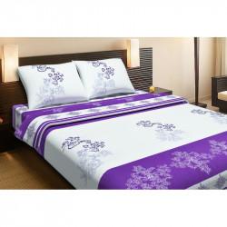 Постельное белье двуспальное Lotus Ranforce - Royal фиолетовое