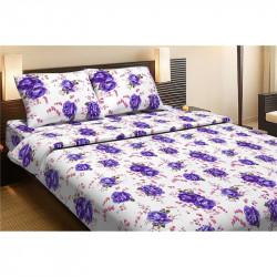 Постельное белье двуспальное Lotus Life Collection - Agnes фиолетовый
