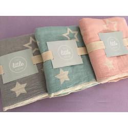 Плед Barine - Twinkle Star pink 130х170