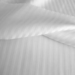 Простынь 160х200х25 Lotus Отель - Сатин Страйп 1*1 на резинке