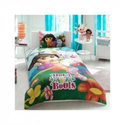 Постельное белье 160х220 подростковое Tac Disney - Dora & Boot