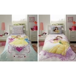 Постельное белье 160х220 подростковое Tac Disney - Princess Belle Heart
