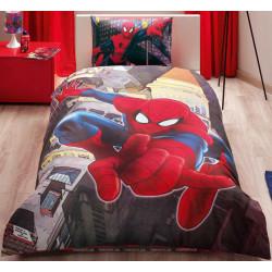 Постельное белье 160х220 подростковое Tac Disney - Spiderman in City
