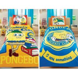 Постельное белье 160х220 подростковое Tac Disney - Sponge Bob Students