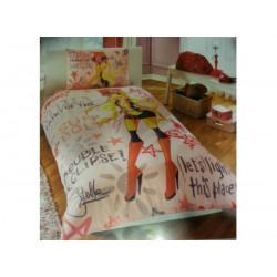 Постельное белье 160х220 подростковое Tac Disney - Winx Holiday Stella