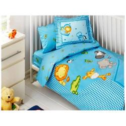 Постельное белье для младенцев Tac Disney - Zooland голубой