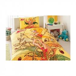 Постельное белье 160х220 подростковое Tac Disney - Winx Stella Naturel Love