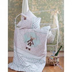 Постельное белье для младенцев Karaca Home аппликация - Deer зеленое