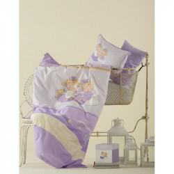 Постельное белье для младенцев Karaca Home перкаль - Mini лиловое