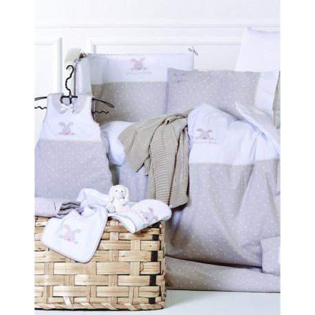 Детский набор в кроватку для младенцев Karaca Home - Sweety Bunny (13 предметов)